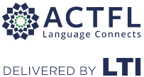ACTFL and LTI co-branded logo